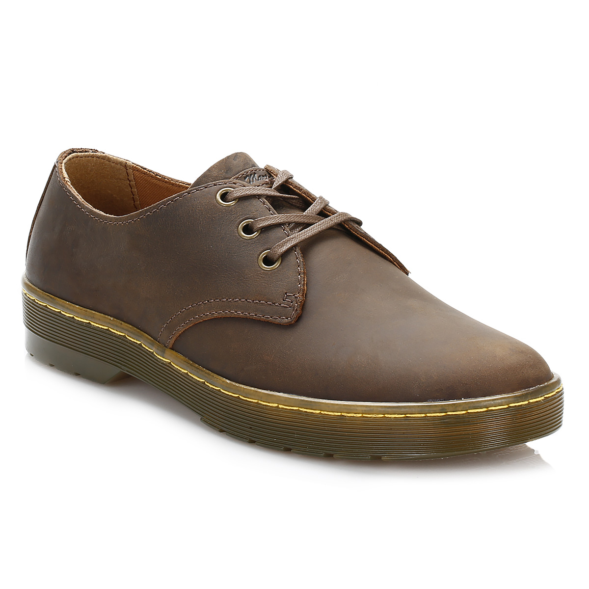 Brown Tan Leather Smart Casual Shoes