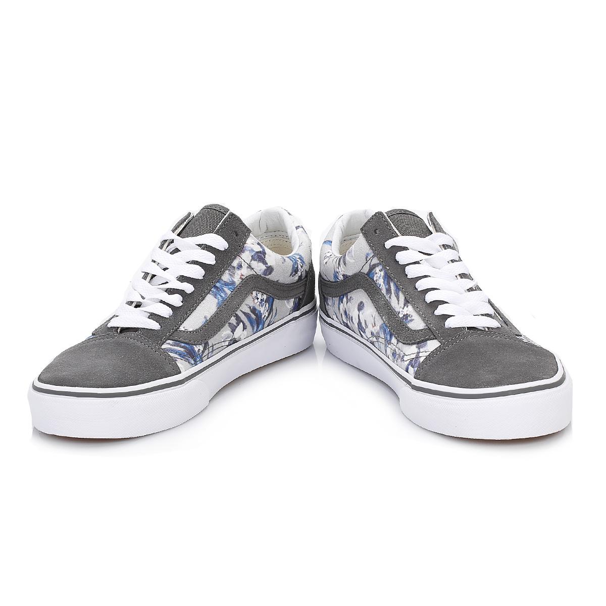 176 Vans Zapatos 2909 Broyd para Ella Old mujer Skool Pad grises qqSwUxr