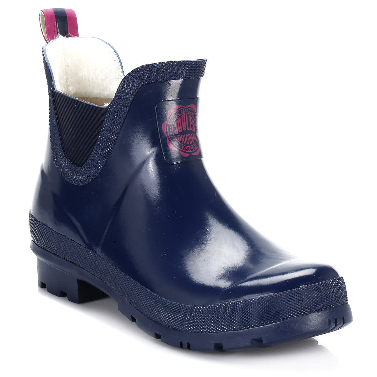 Joules Womens Boots French Navy Blue Wellibob Wellington ...