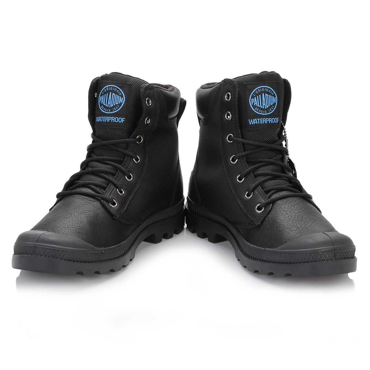 palladium mens boots black pa sport cuff premium