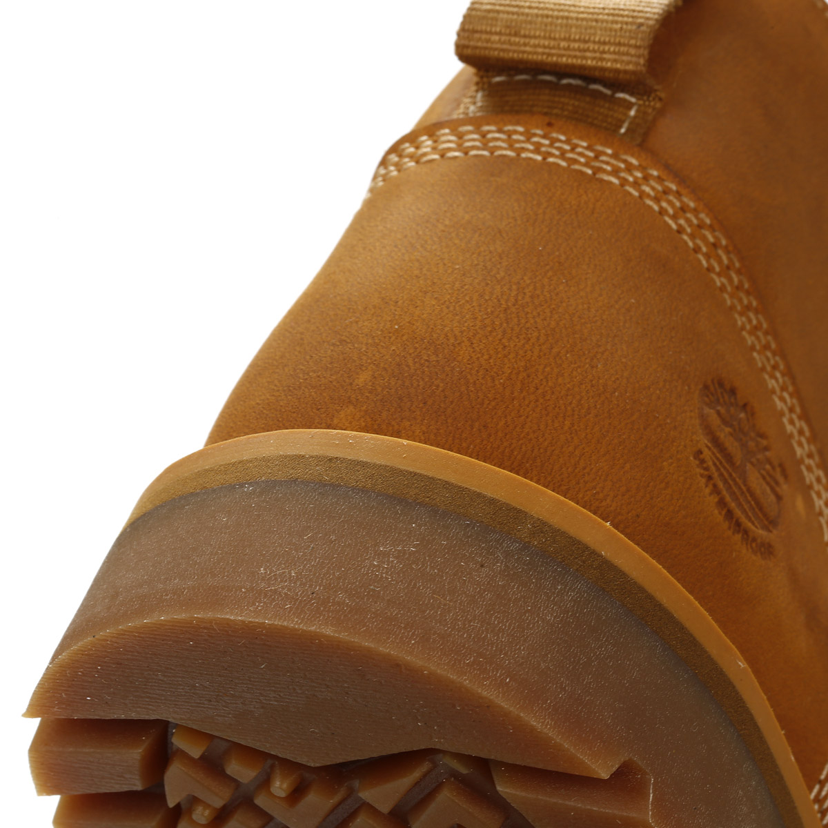 Timberland Mens Boots Wheat Larchmont Waterproof Chukka Lace