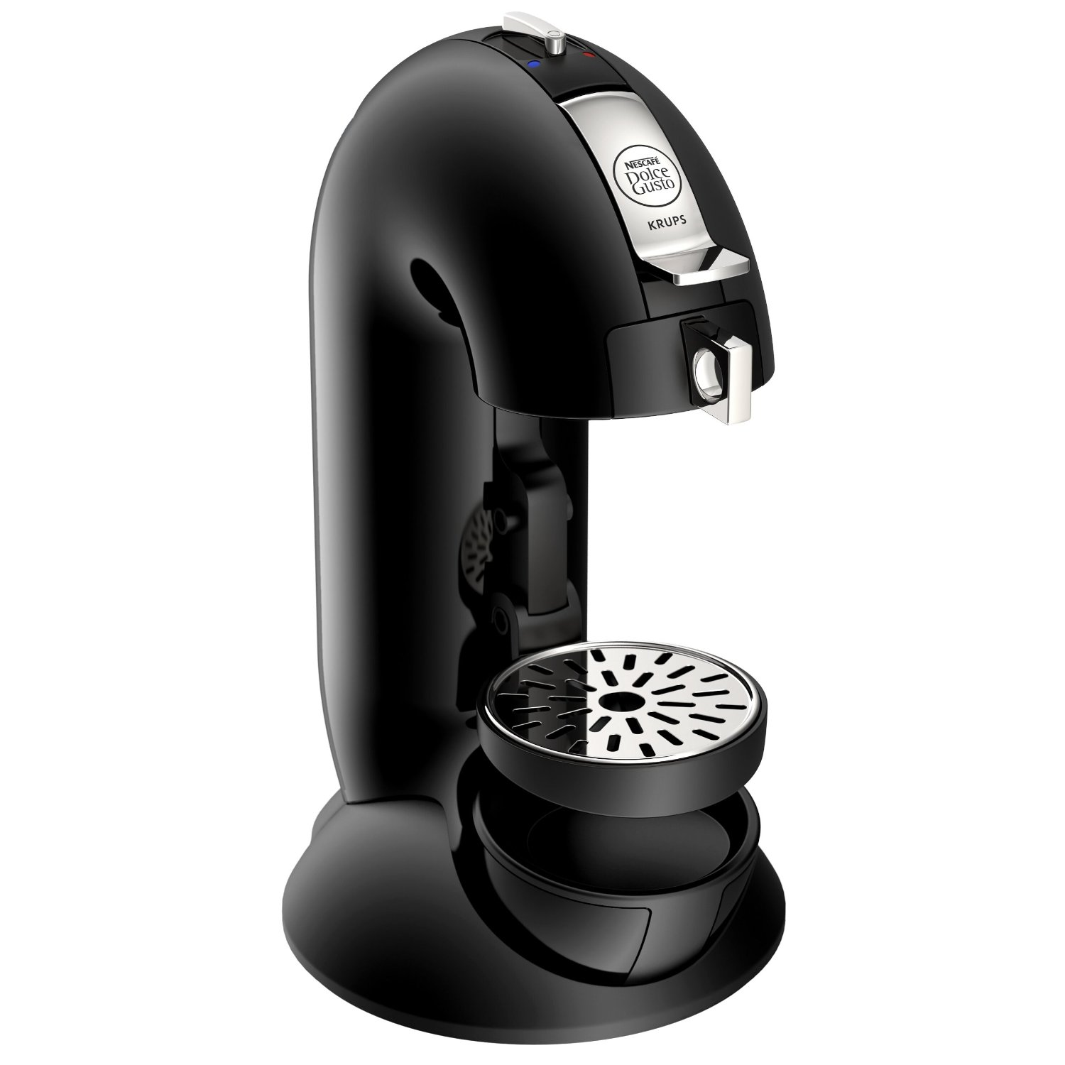 krups nescafe dolce gusto coffee maker 15 bar black capsule machine kp301040 ebay. Black Bedroom Furniture Sets. Home Design Ideas