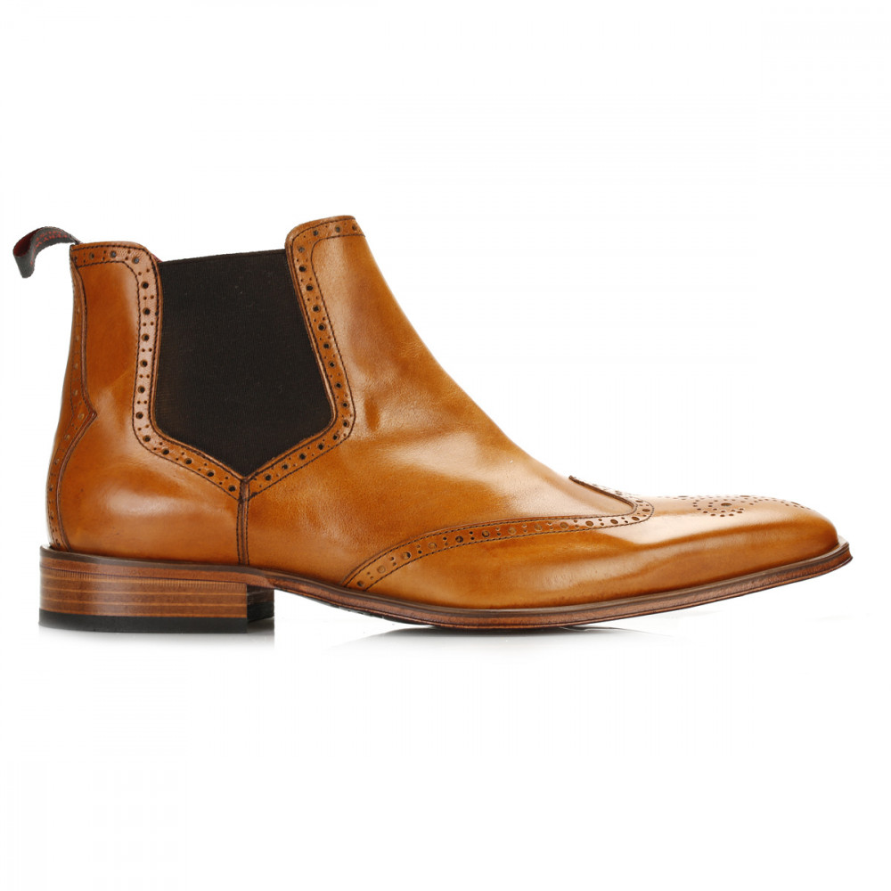 jeffery west mens chelsea boots leather suede pull on
