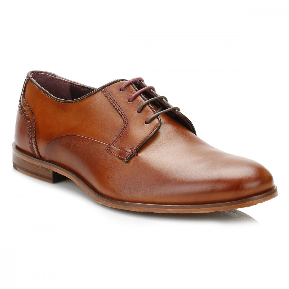 Ted Baker Iront Leather Derby Shoes Brown