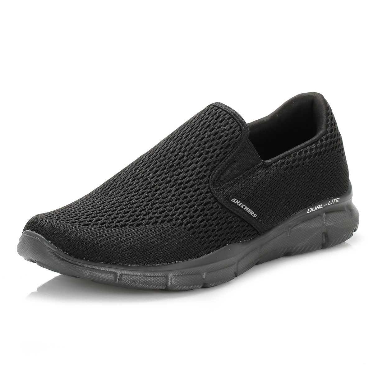 Skechers Go Walk  Black Mens Slip On Shoes