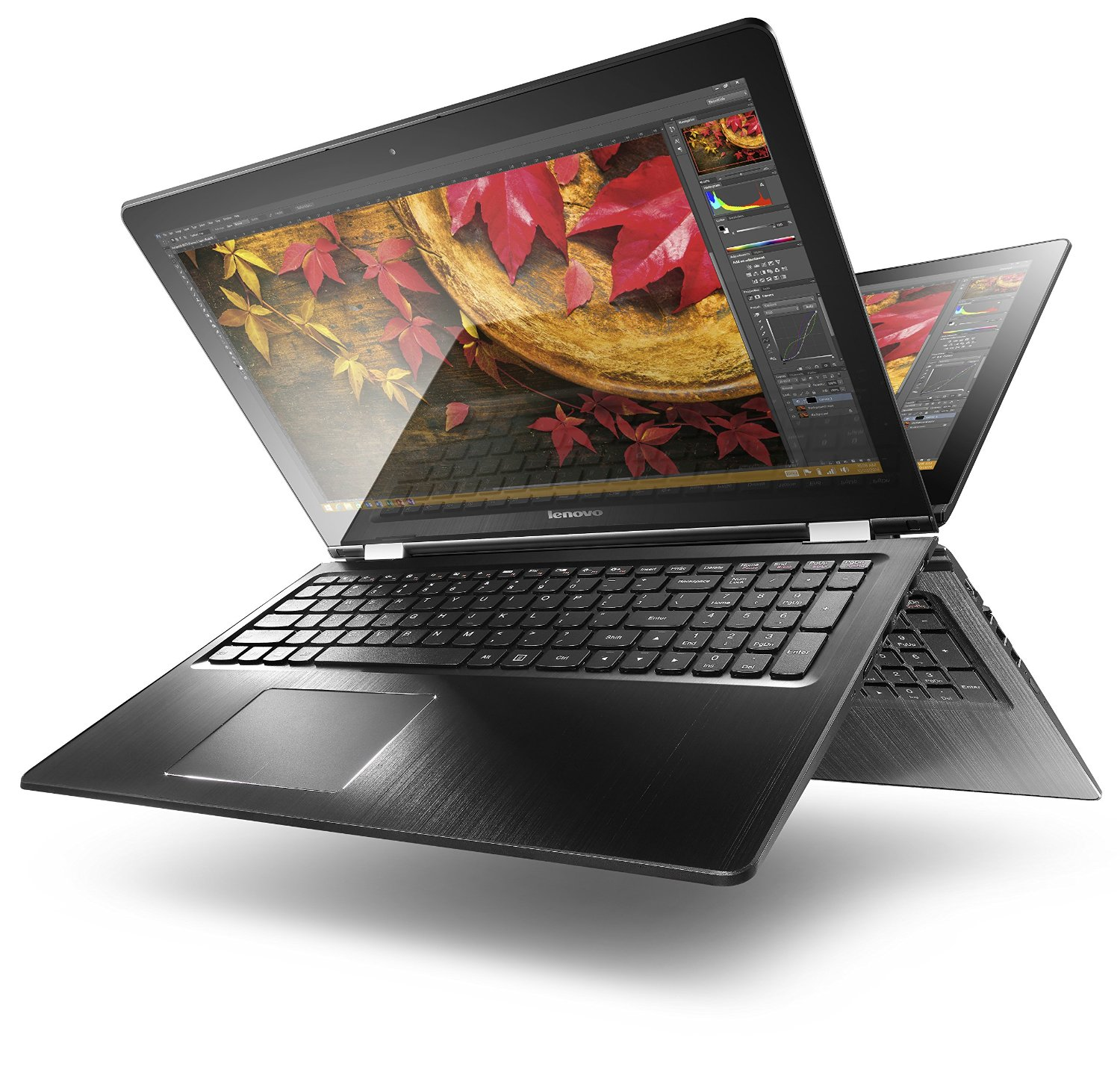 Lenovo also announced the latest addition to the premium ThinkPad X1 laptop portfolio and upgraded GPUs on the re-designed Lenovo Legion gaming PCs introduced at E3. Lenovo Yoga Book C The Lenovo Yoga Book C rewrites the rules of productivity as a device that comes with two displays, including one built with E Ink.