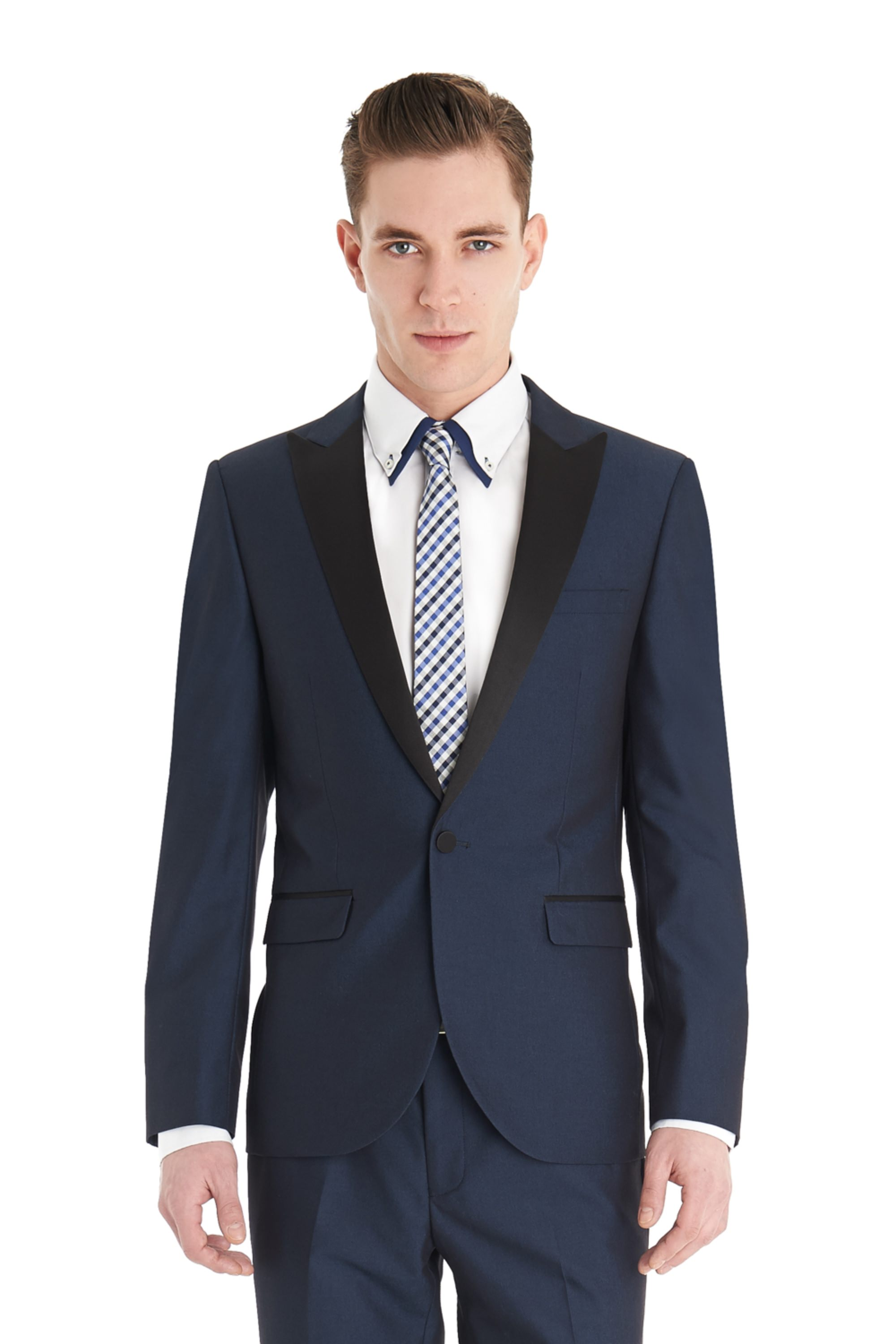 A dinner suit (or tuxedo) is the perfect outfit choice for a formal occasion. Whether you are looking to get dressed up for your work Christmas party or another black tie event, be sure to make a statement in one of our selected dinner suits.