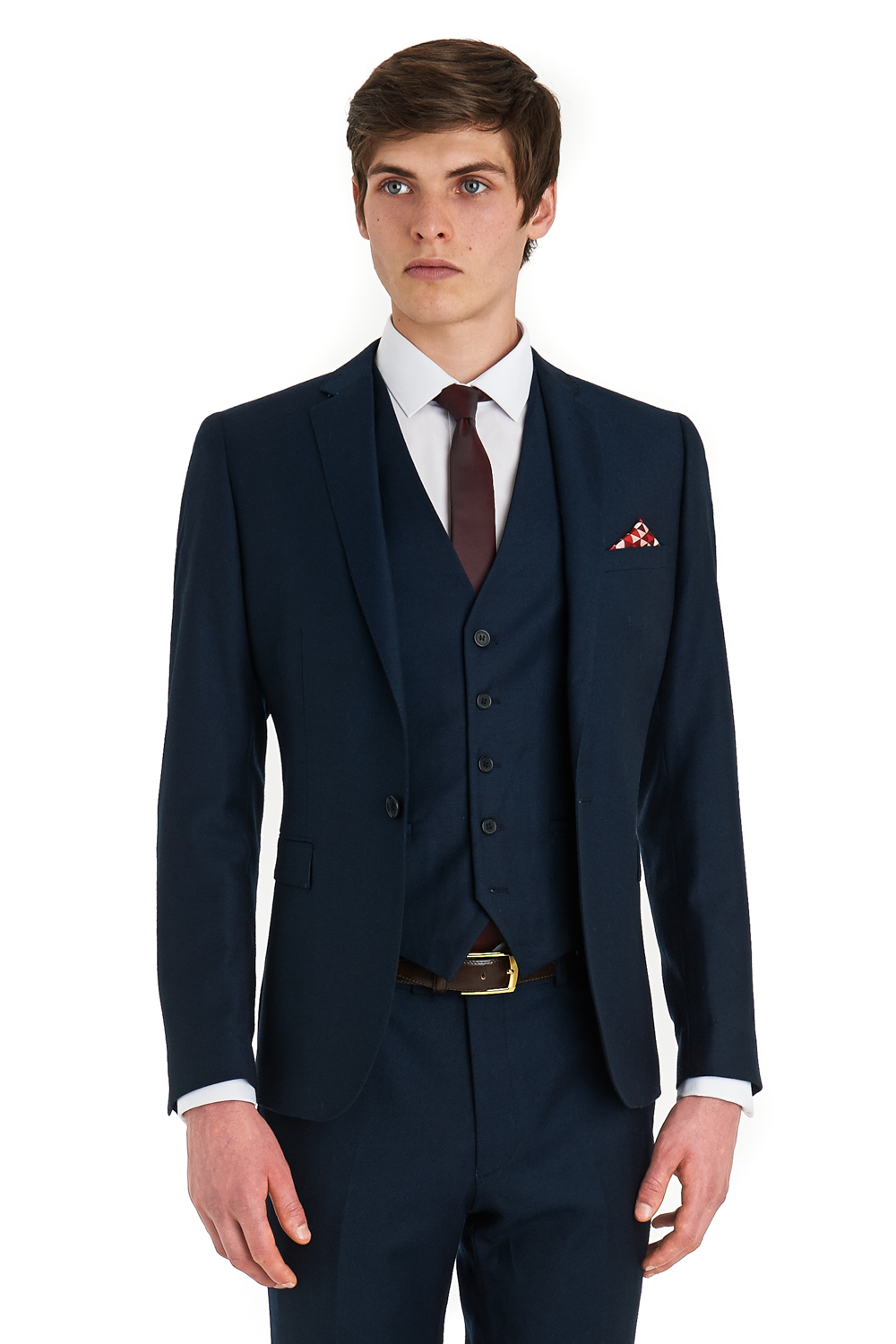 3 Piece Slim Fit Suit Sale | My Dress Tip