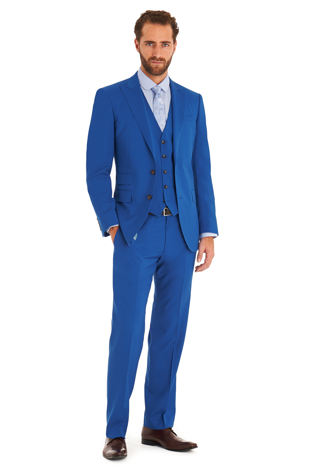 Mens Blue Suit Sale | My Dress Tip