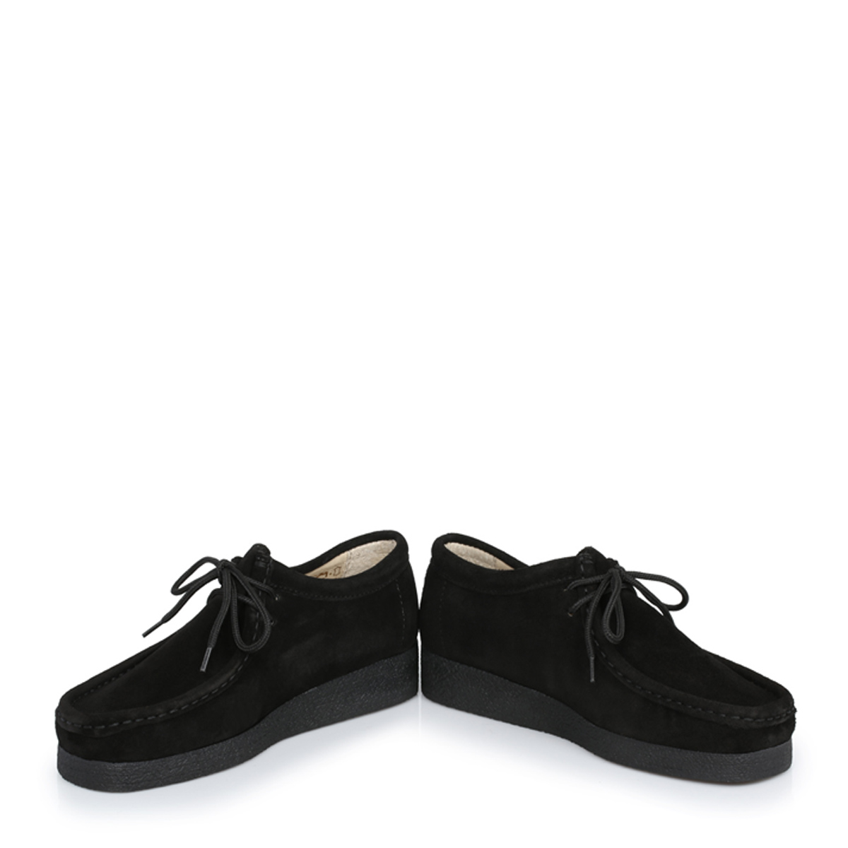 Tower Footwear Negro Wallabee Suede Zapatos-UK 5 L5Xs4Zn