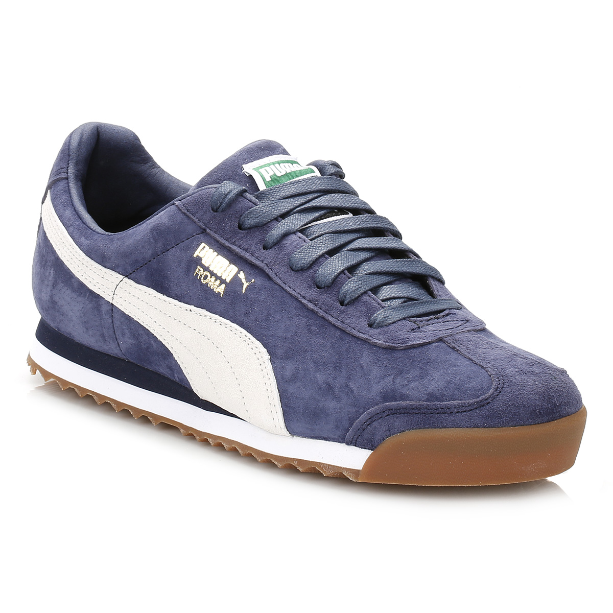 outlet store 56e03 3bb70 puma roma blue suede