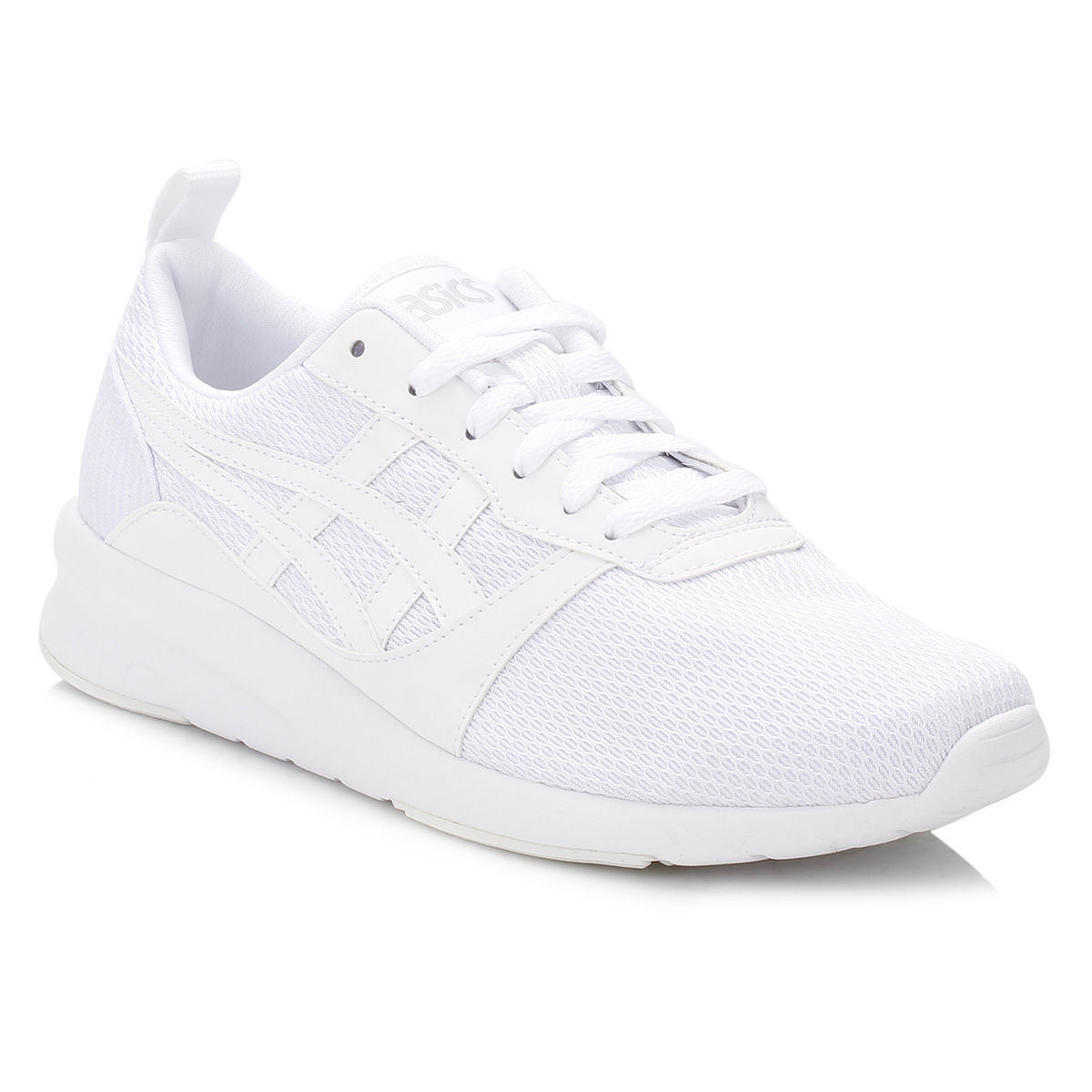 Buy asics white trainers