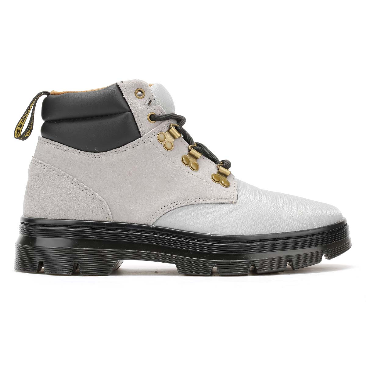 Dr. Martens Grey Hiker Boots, Rakim Ripstop, Ankle Shoes