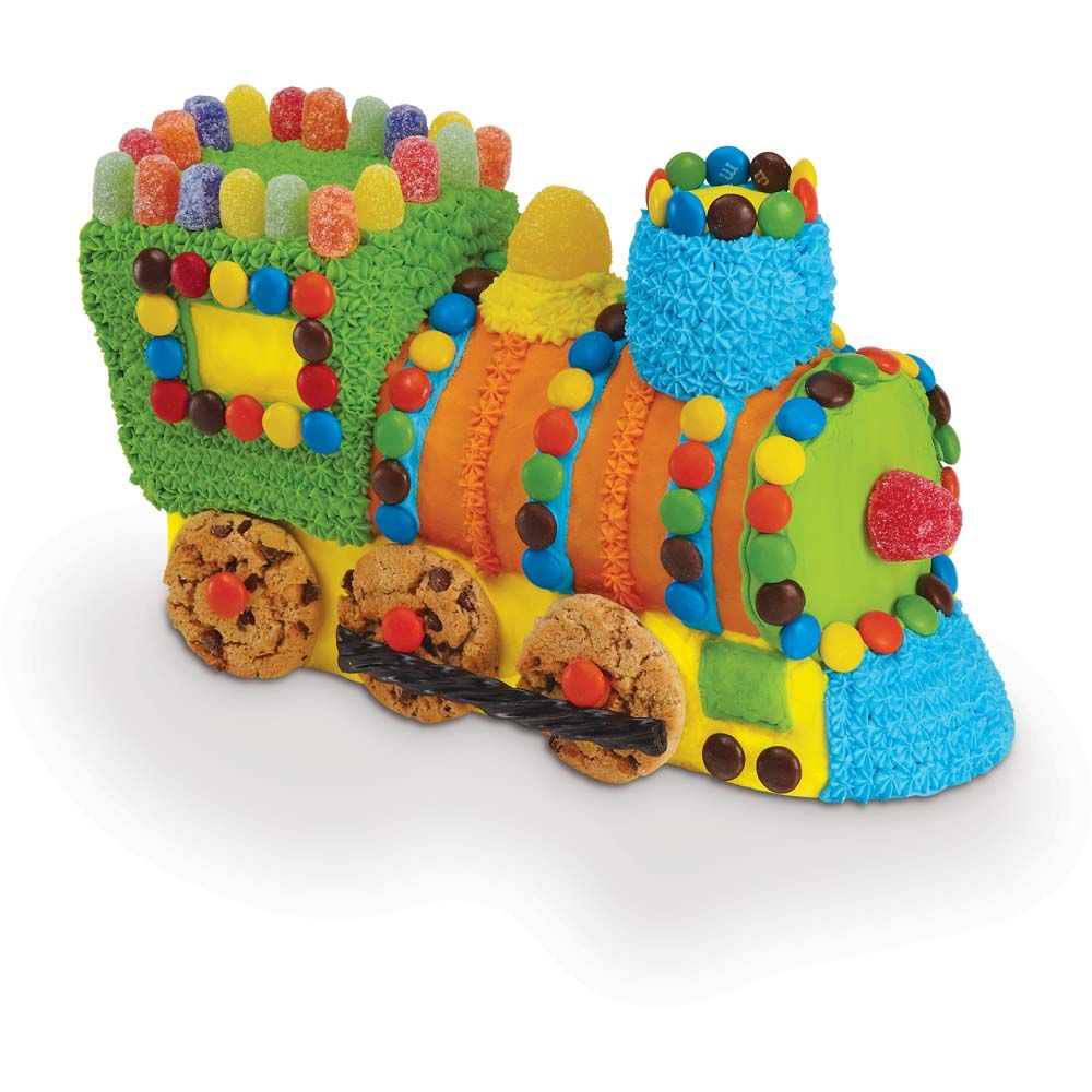 Train Cake Pan Decorating Ideas