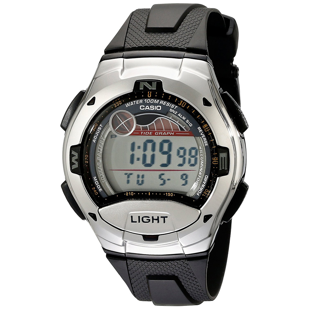 casio mens digital wrist watch grey tide graph sports fashion footwear > jewelry watches > watches