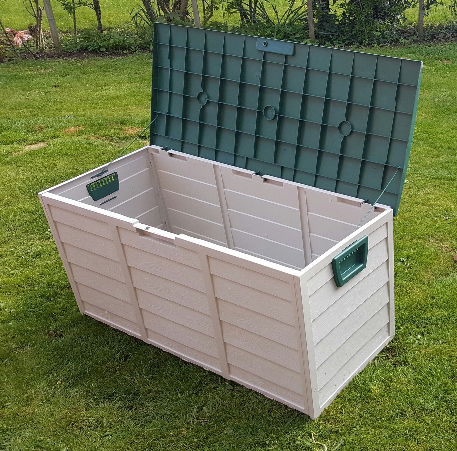 Pvc Outdoor Box : Lord of the lawn garden storage box plastic outdoor