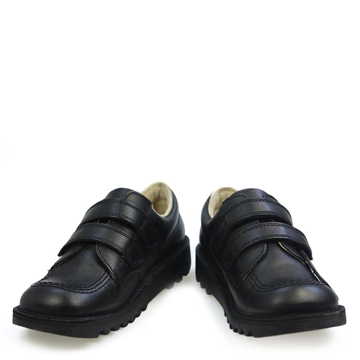 Kickers Kick Lo Vel Boys School Shoes