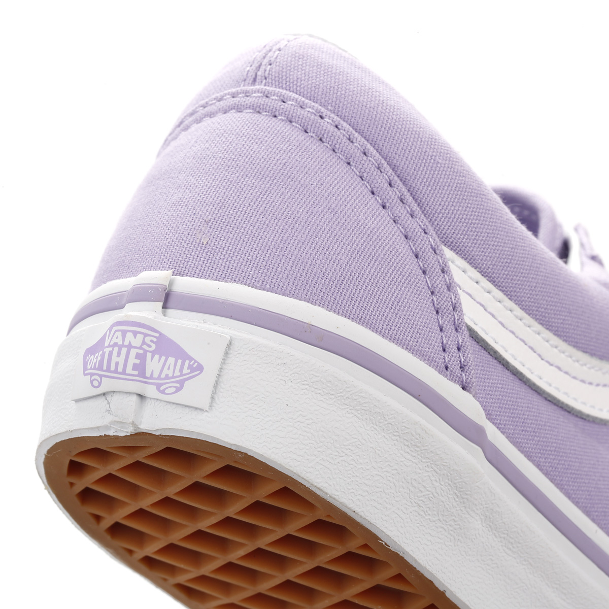 vans lilac trainers