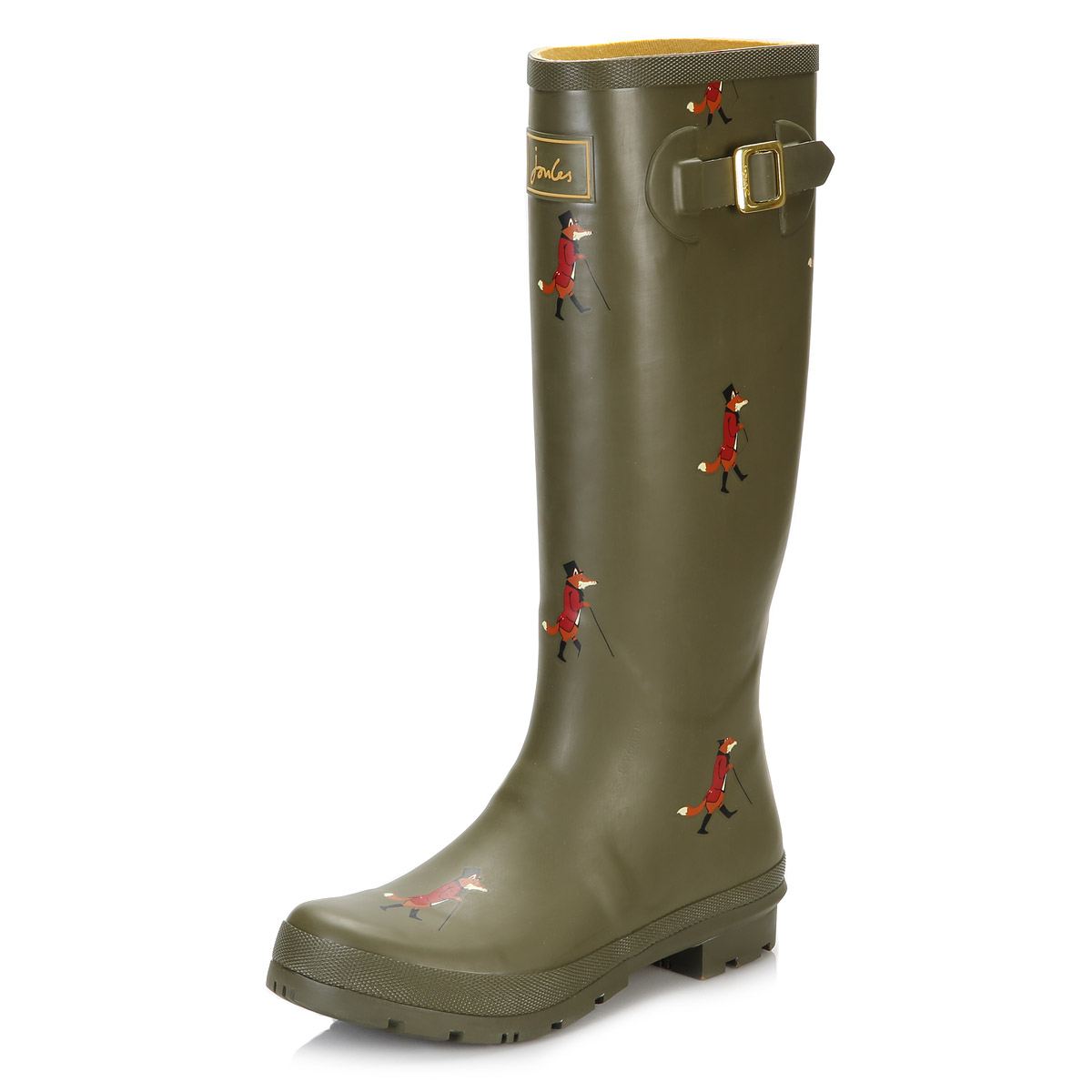 Joules Womens Wellington Boots Blue/Green/Black Wellies ...