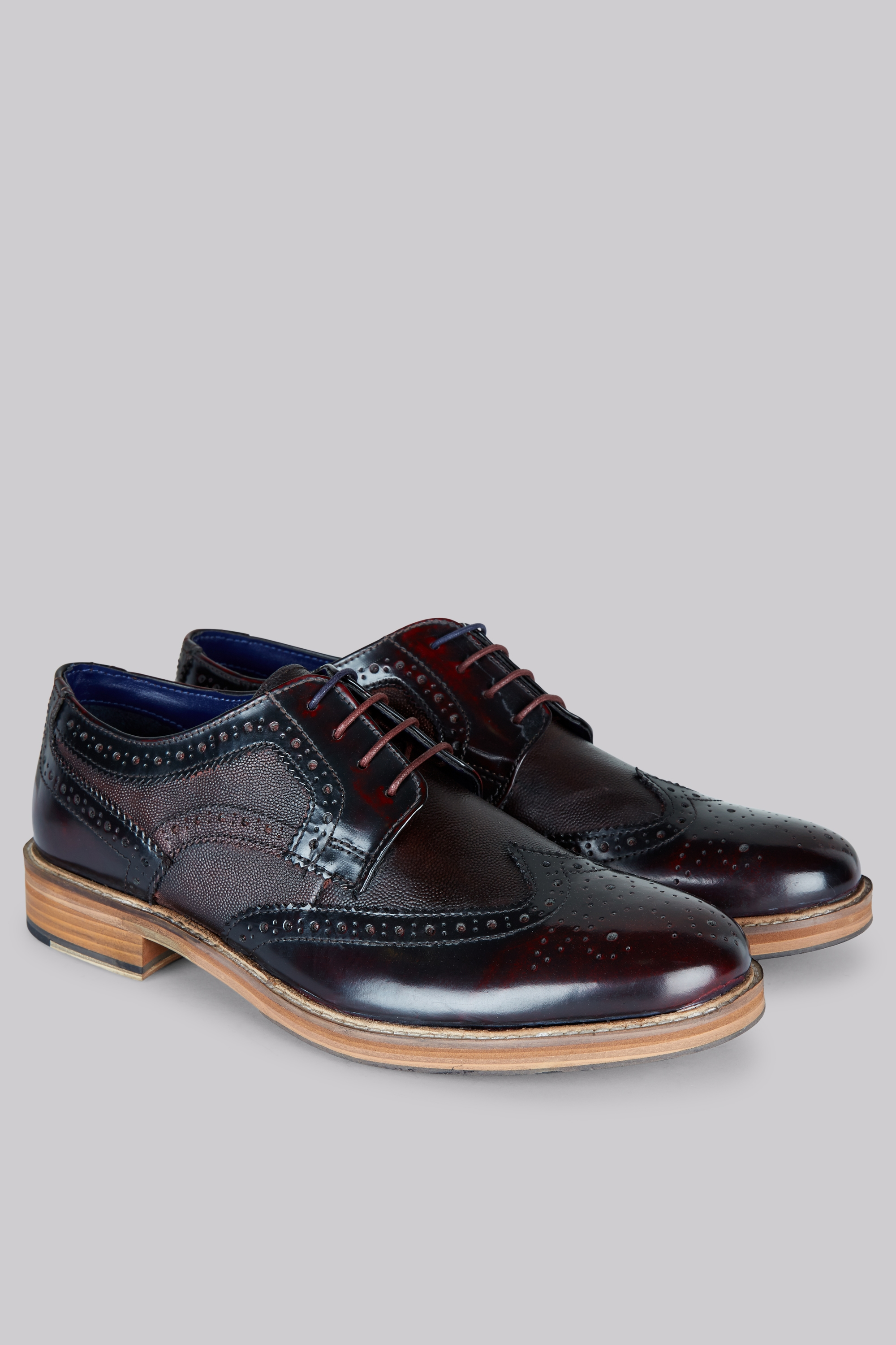 moss mens formal shoes oxblood fairfield