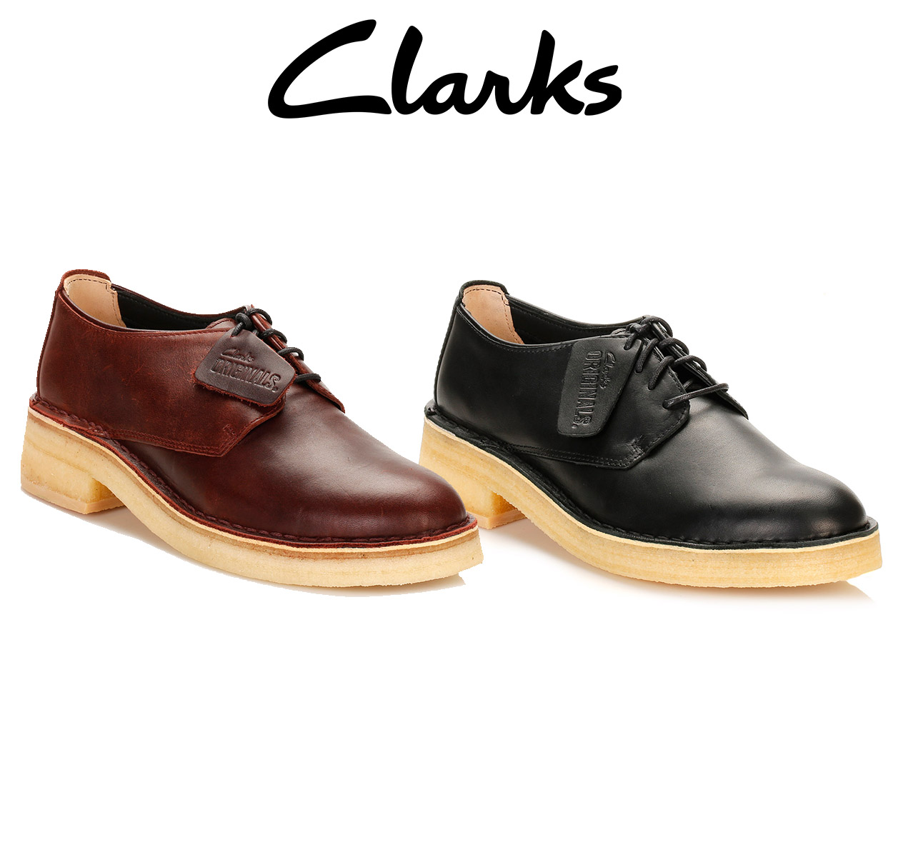Womens Leather Casual Shoes Low Heel Brown Lace Up