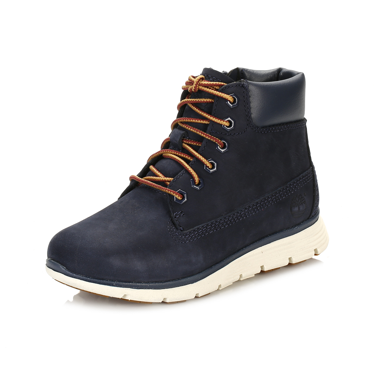 Elegant Timberland Glancy 6 IN Womenu0026#39;s Navy Low Heel Ankle Boots | Shiekh Shoes