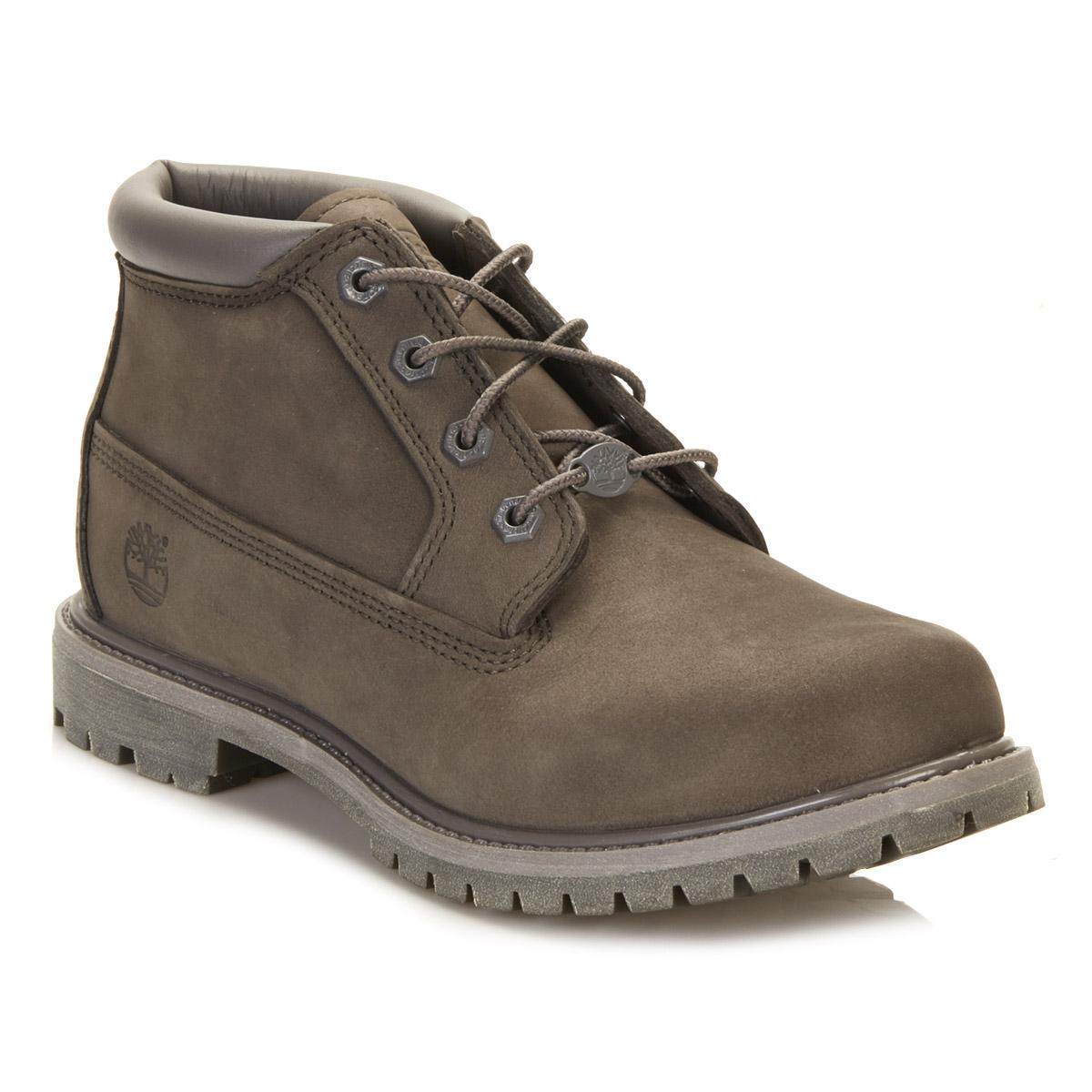 Timberland Womens Mono Grey Nellie Chukka Boots