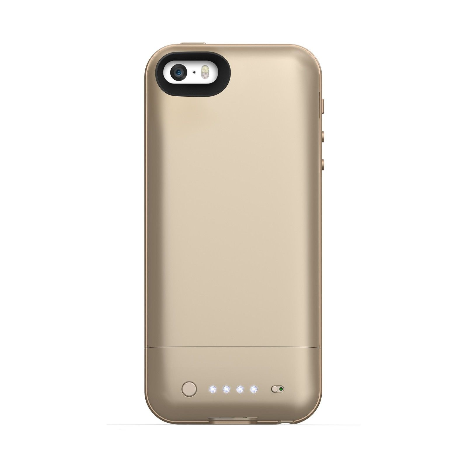 mophie juice pack air case with power bank gold iphone 5. Black Bedroom Furniture Sets. Home Design Ideas