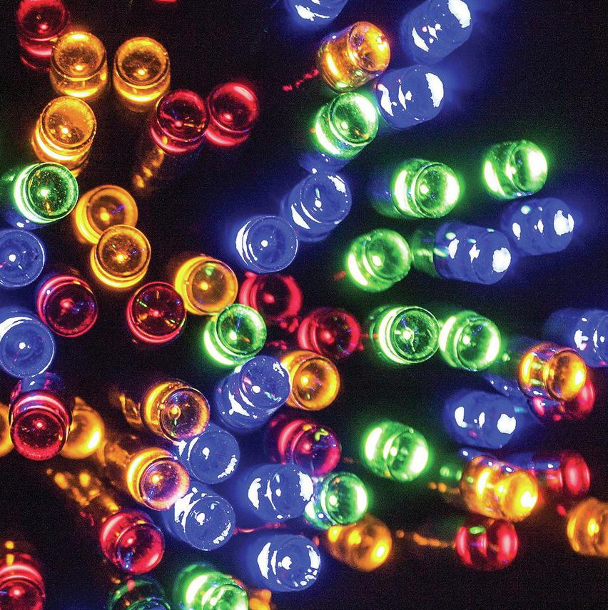 Solar String Lights For Trees : Bright LED Solar String Lights, 50/100 Multi-colour for Garden, Trees or Bushes eBay
