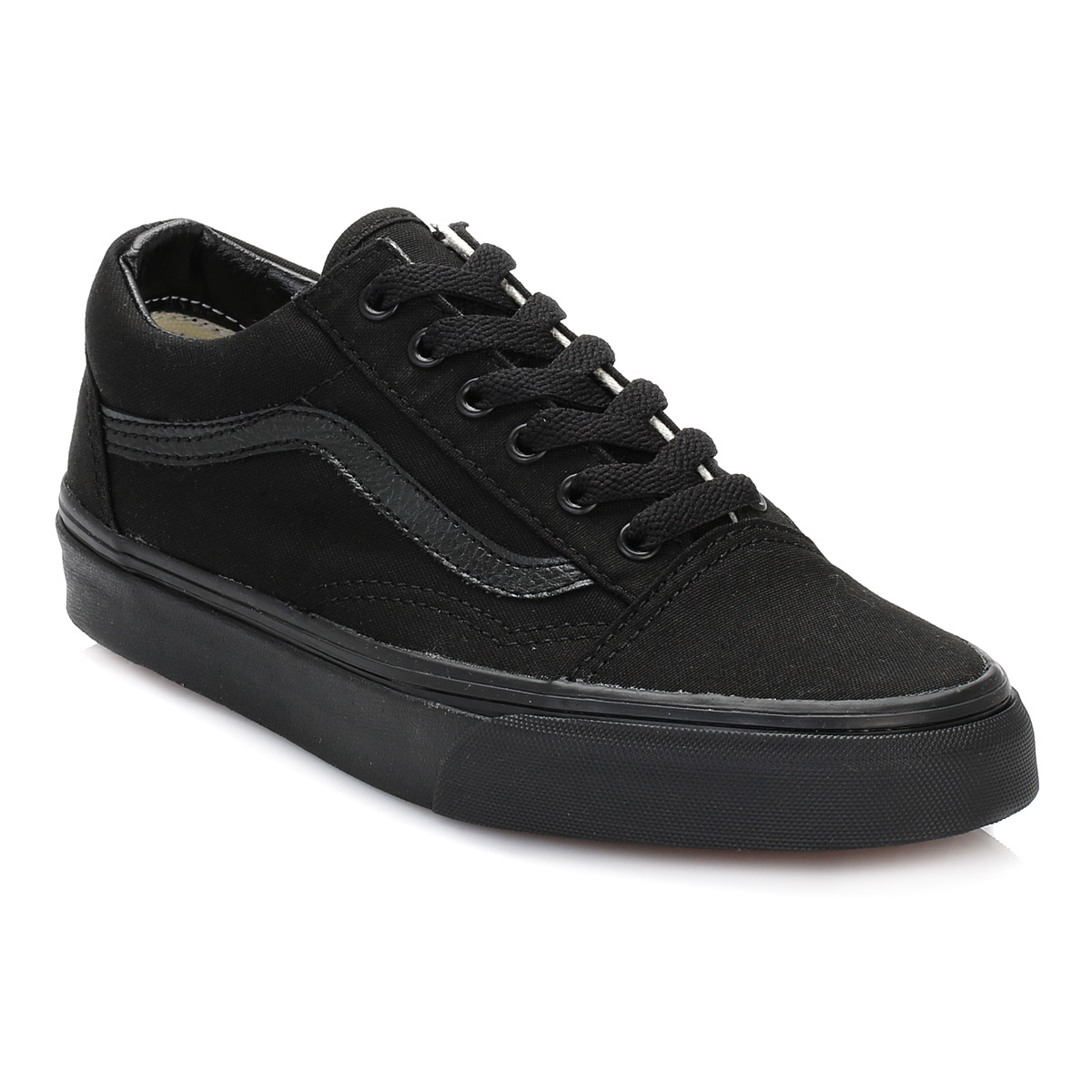 vans mens womens trainers canvas lace up old school black casual shoes vd3hbka ebay. Black Bedroom Furniture Sets. Home Design Ideas