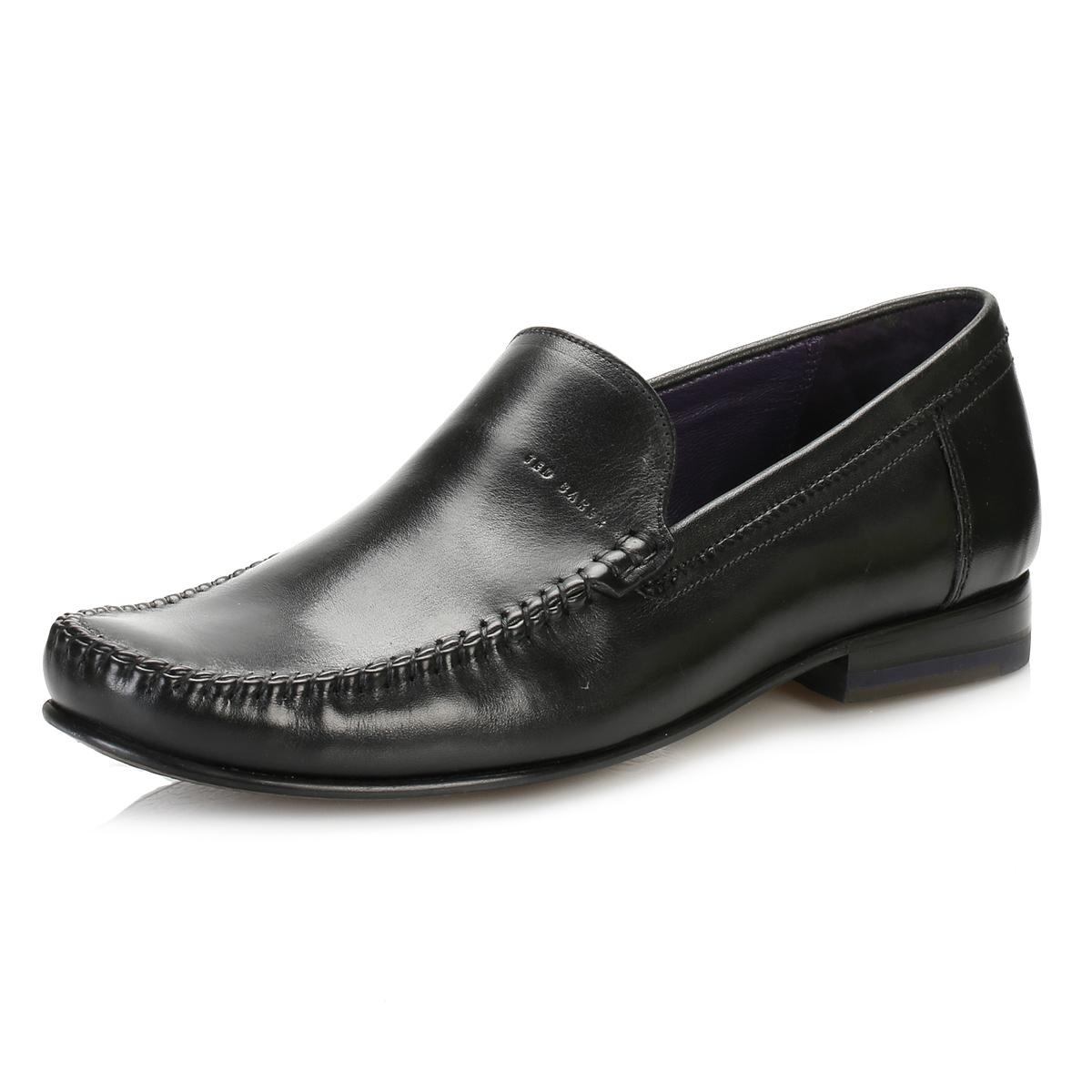 ted baker mens formal shoes black simeen 3 leather smart