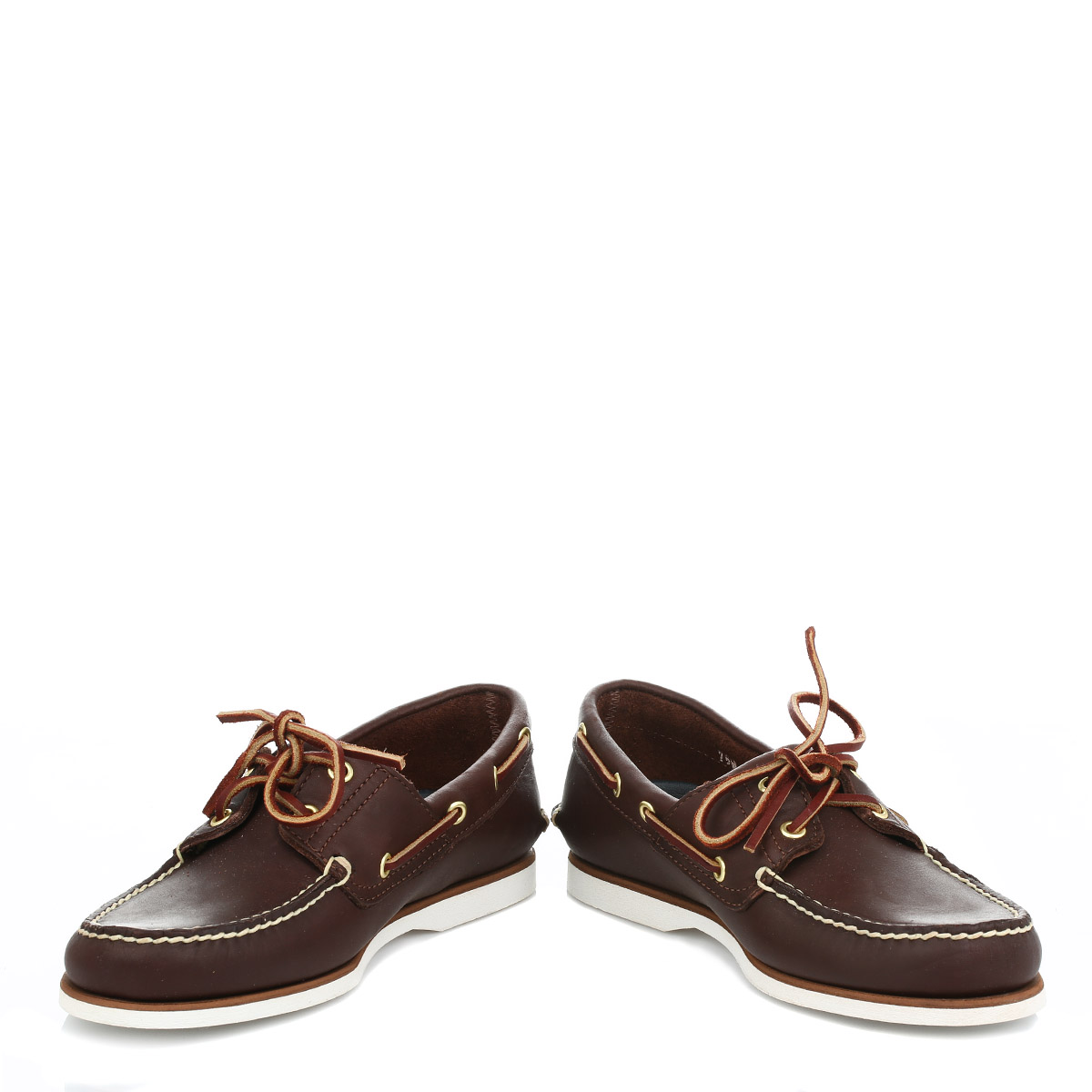 timberland classic brown leather boat casual
