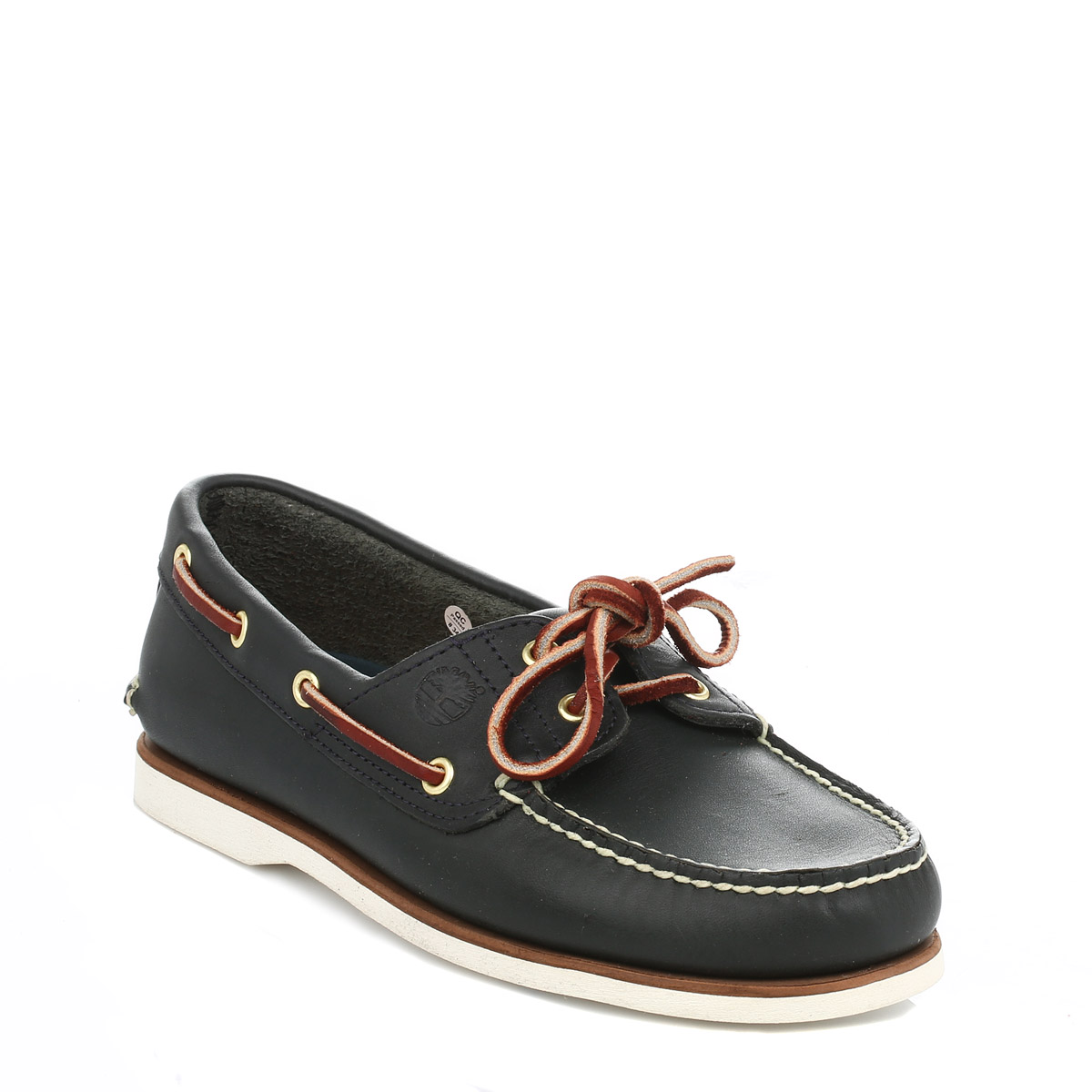 Timberland Leather Boat Shoe Brown