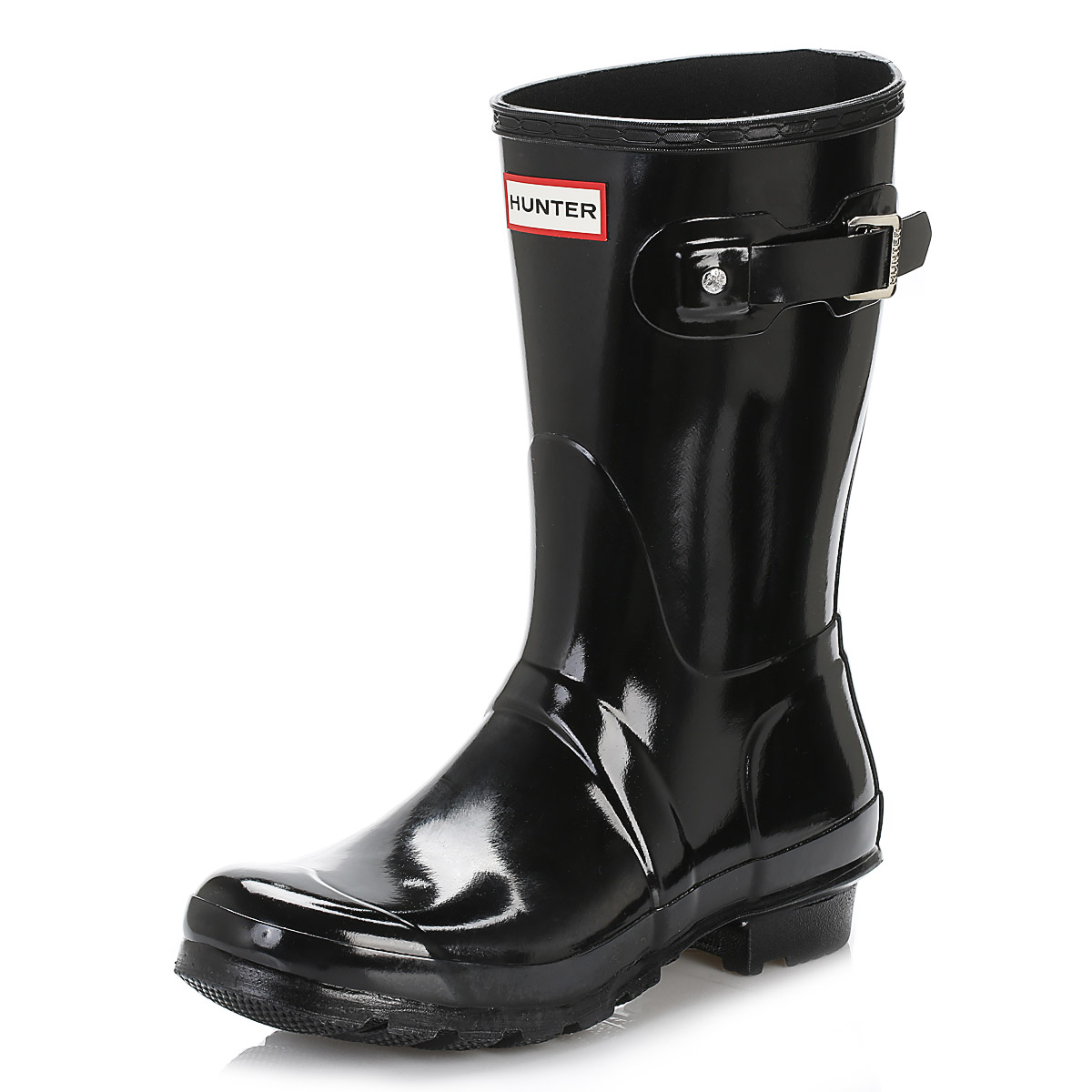 Hunter Women High/Short Wellington Boots Ladies Glossy Rubber Tall Wellies Shoes | eBay