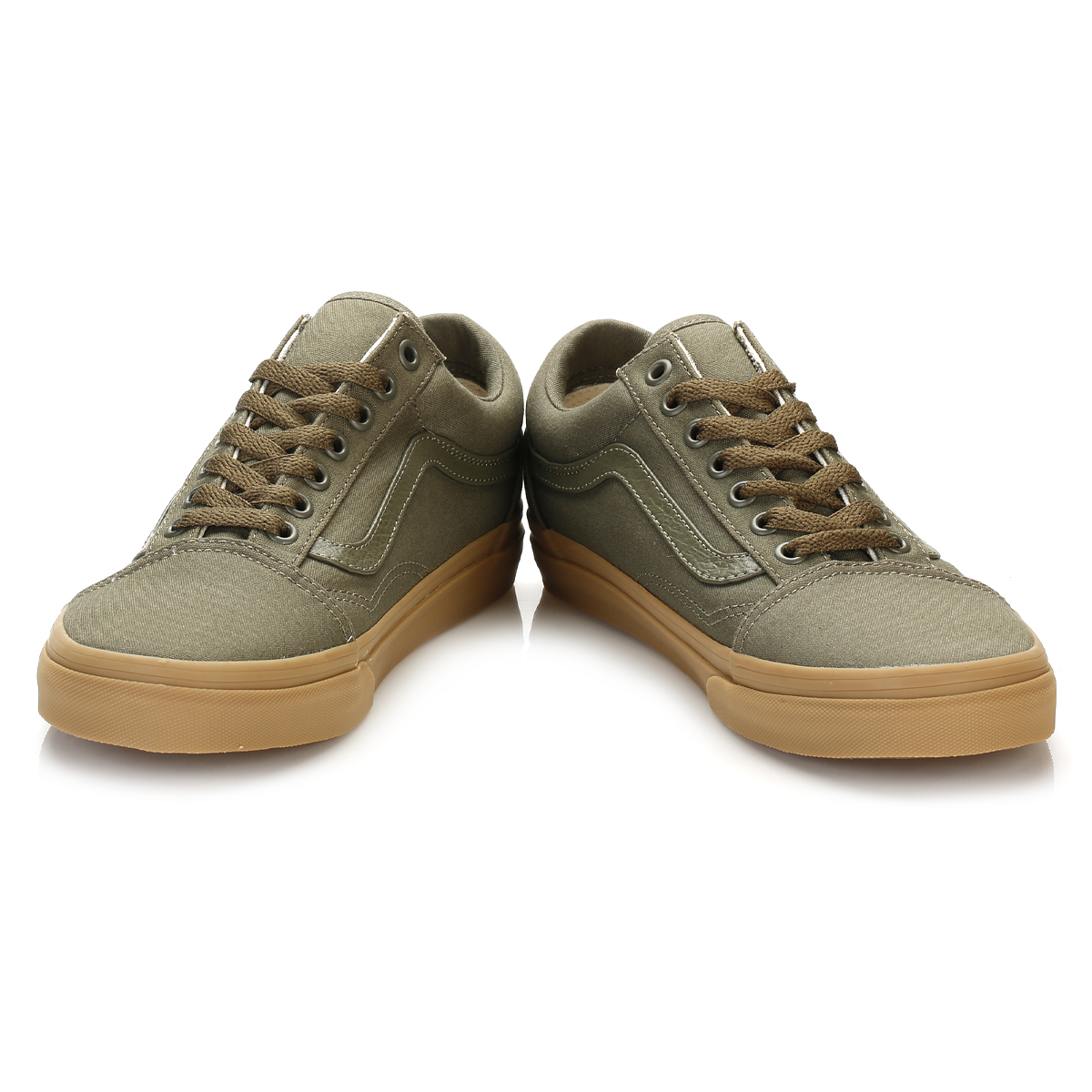 vans old skool gum sole ivy green