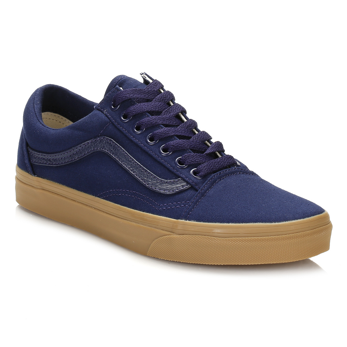 vans mens trainers green blue black light gum old skool. Black Bedroom Furniture Sets. Home Design Ideas