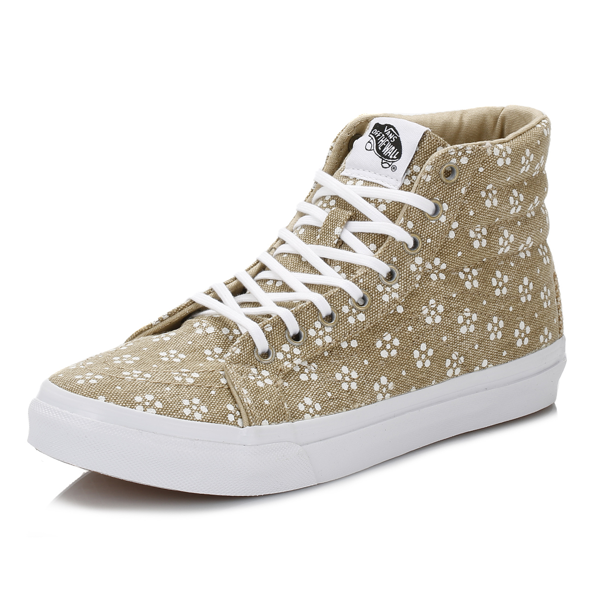 Vans Womens Trainers Leather/Suede SK8 High Tops Lace Up ...