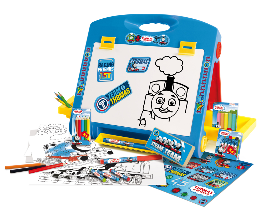 Table Top Toys For Preschoolers : Thomas friends kids table top easel colouring board