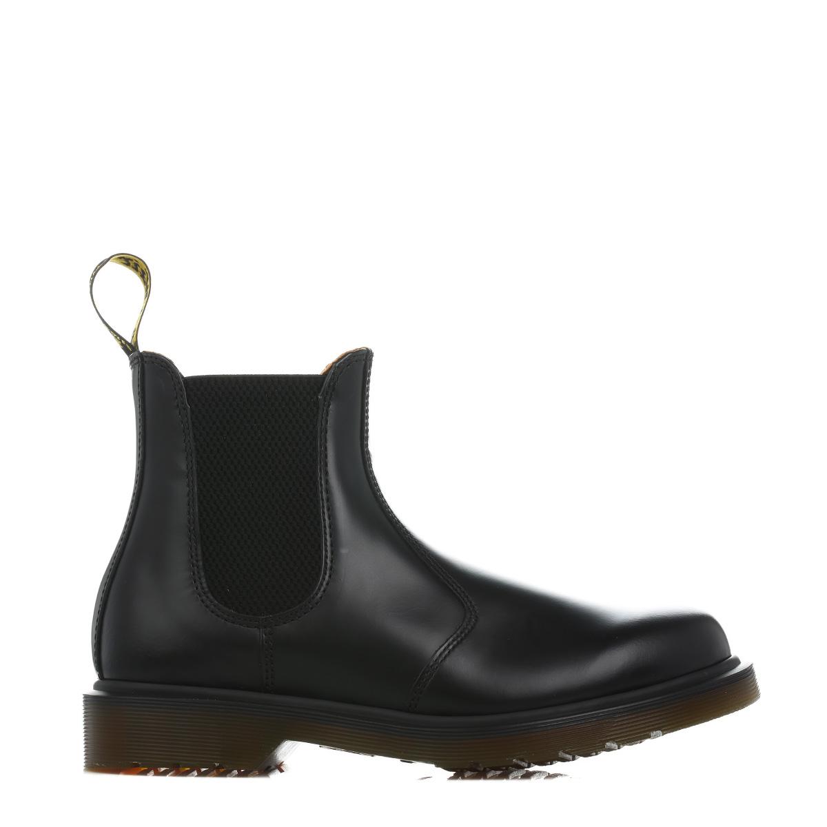 dr martens unisex black 2976 chelsea boots leather pull on smart shoe docs ebay. Black Bedroom Furniture Sets. Home Design Ideas