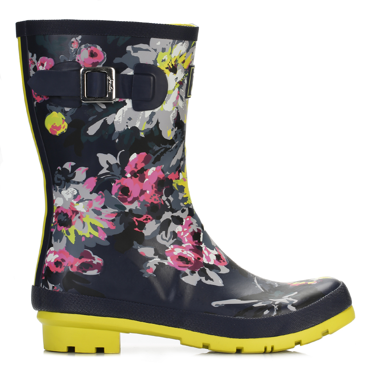 joules womens mid calf wellington boots rubber wellies