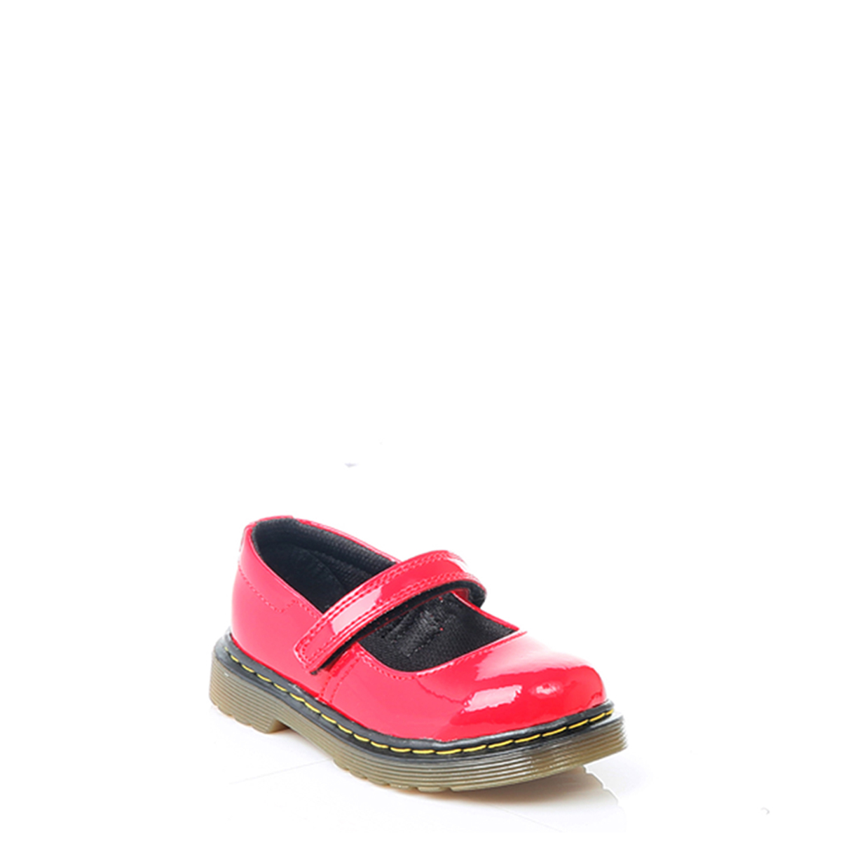 Red Patent Leather Shoes For Infants