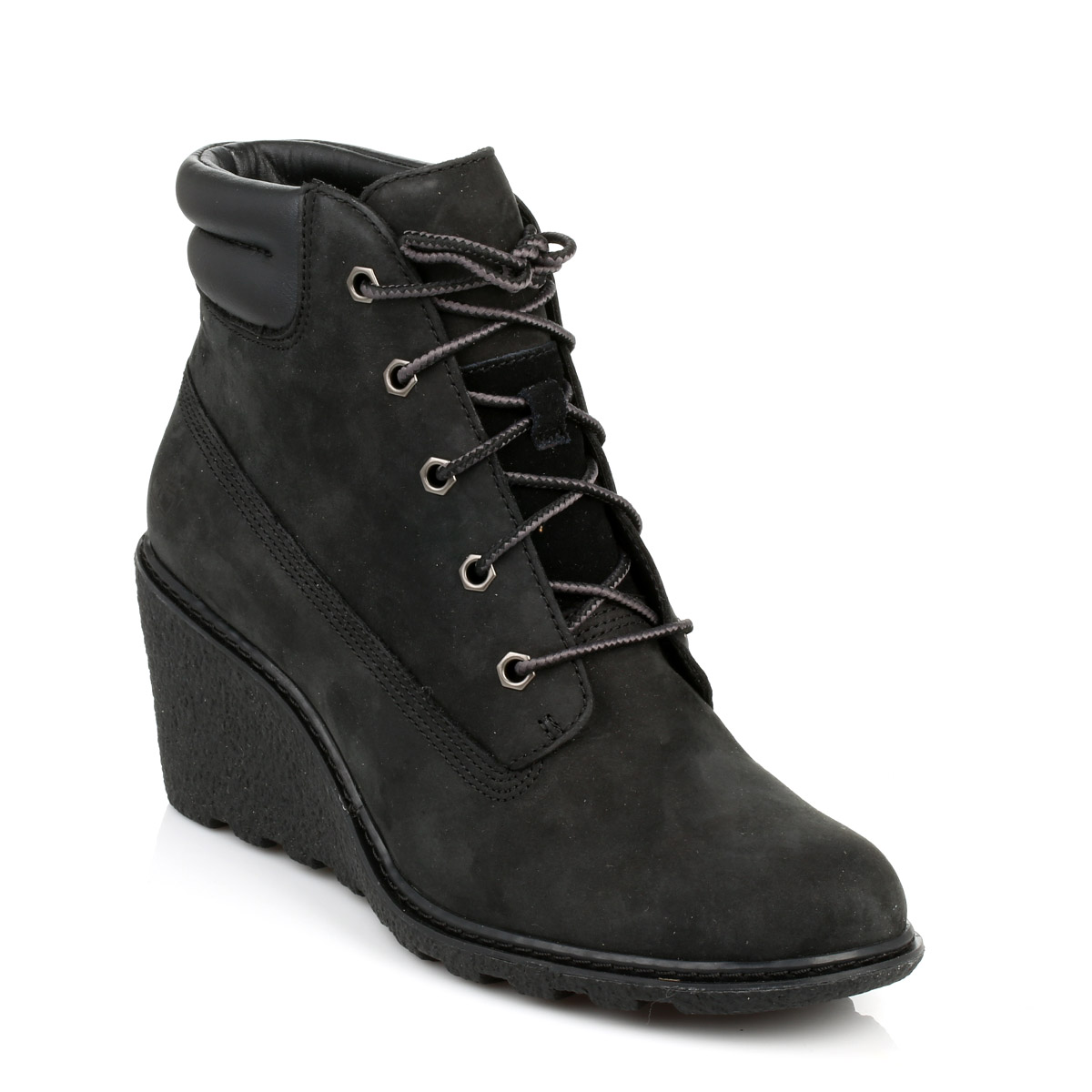 Perfect  Boots  Daniel  Daniel Veta Black Leather Women39s Wedge Ankle