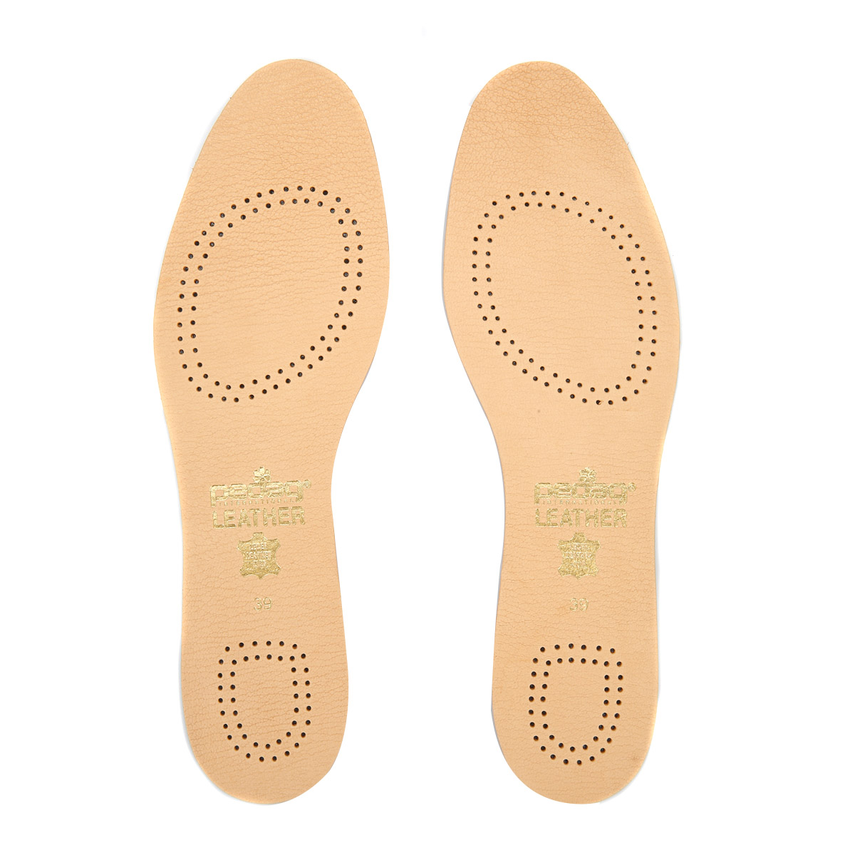 Pedag Cuero Acolchado Plantillas Botas Zapatos para Hombre Mujer Comodidad Transpirable