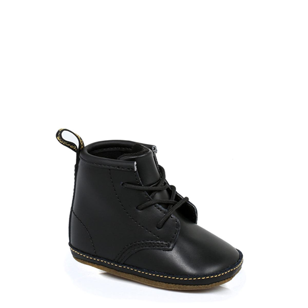 dr martens infant baby boys docs shoes black