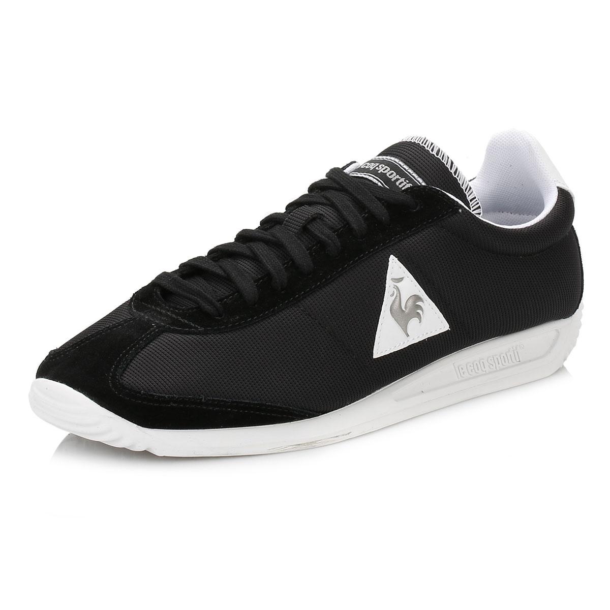 le coq sportif mens trainers quartz nylon lace up casual sport shoes ebay. Black Bedroom Furniture Sets. Home Design Ideas