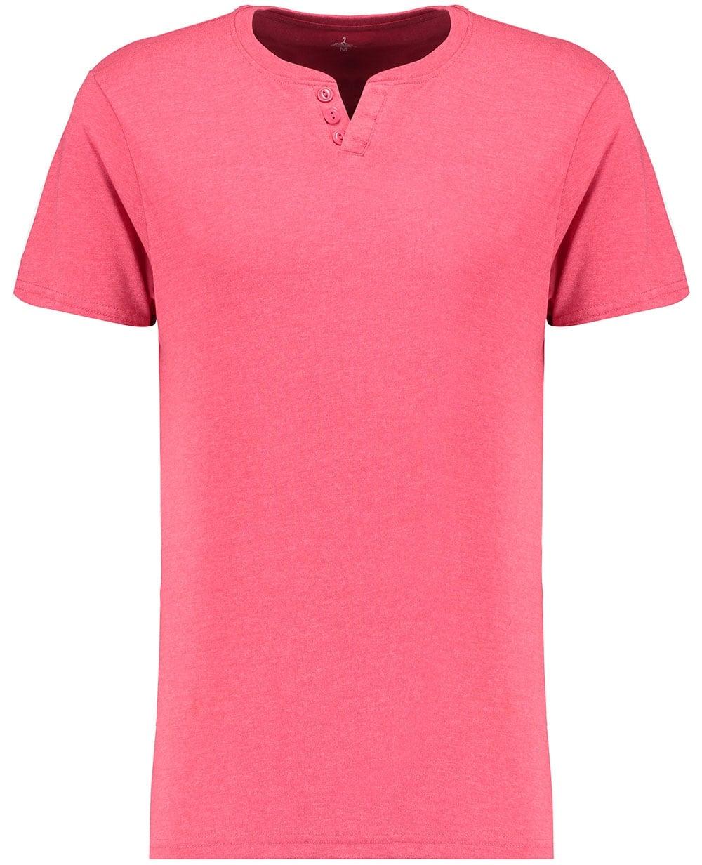 Industrialize Mens Grandad T Shirt Cotton Various