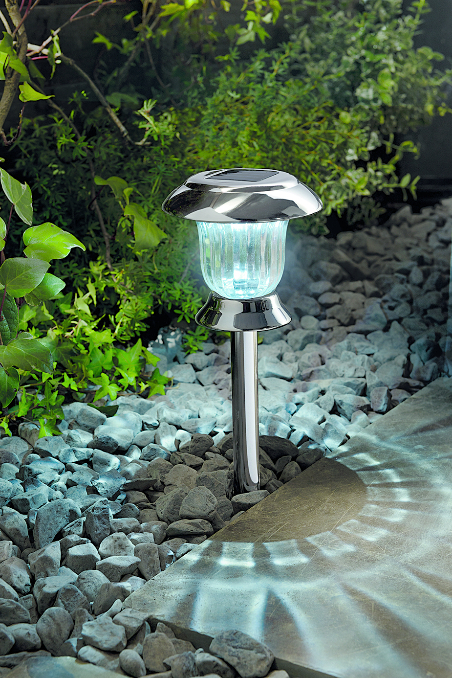 cole bright solar post lights led pathway garden lamps ebay