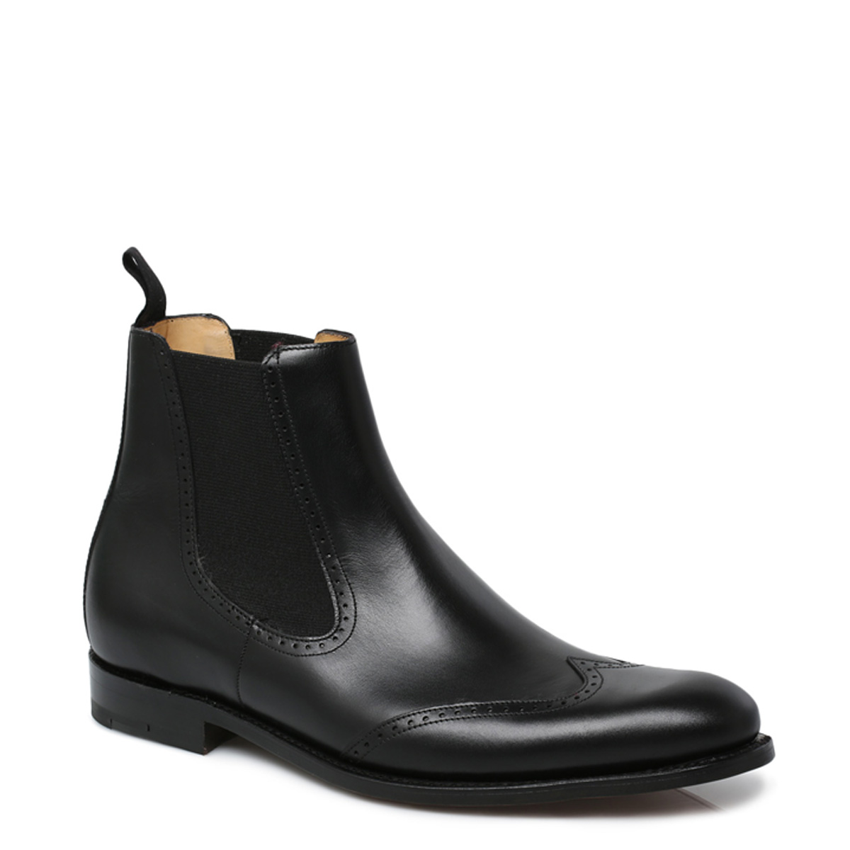 Ladies Chelsea Brogue Boots From Barker Shoes