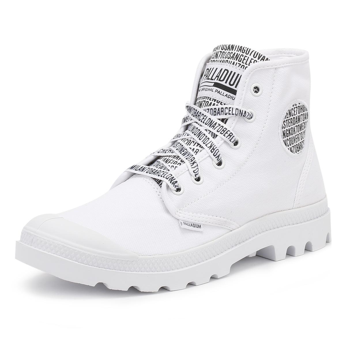 palladium pa hi 70th anniversary ankle boots black or