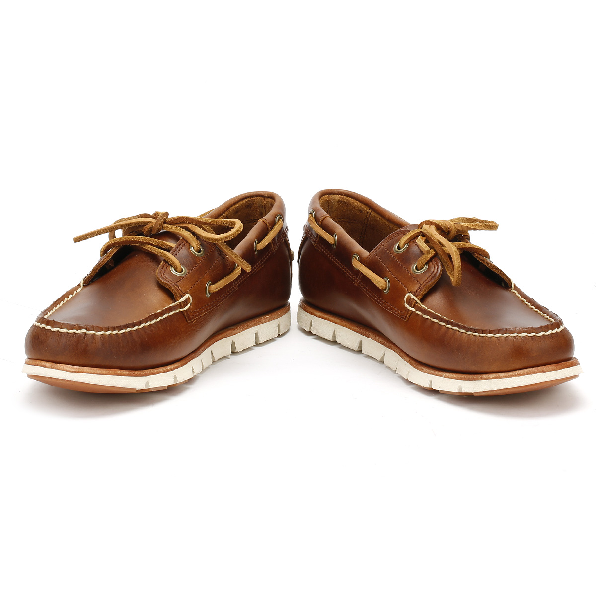 timberland mens classic boat shoes grey or brown lace up